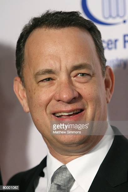 Tom Hanks attends the Saks Fifth Avenue Unforgettable Evening at the Beverly Wilshire Hotel on February 20, 2008 in Beverly Hills, California.