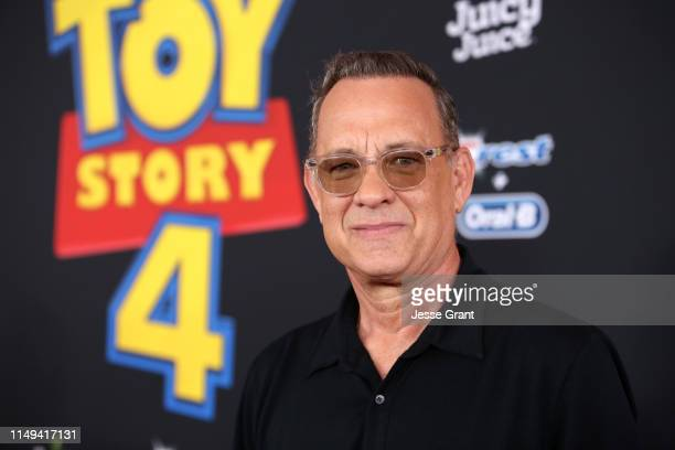 Tom Hanks attends the world premiere of Disney and Pixar's TOY STORY 4 at the El Capitan Theatre in Hollywood CA on Tuesday June 11 2019