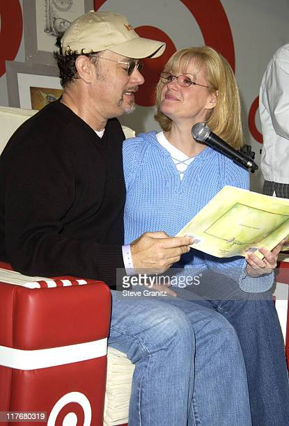 Tom Hanks Bonnie Hunt at the Target A Time for Heroes Celebrity Carnival Benefitting the Elizabeth Glaser Pediatric AIDS Foundation