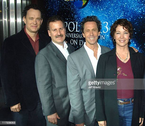 Tom Hanks Craig Kornblau Brian Grazer and Kathleen Quinlan