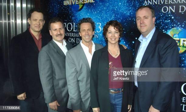 Tom Hanks Craig Kornblau Brian Grazer Kathleen Quinlan and Frederick Huntsberry