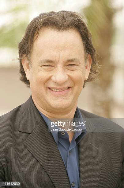 "Tom Hanks during 2006 Cannes Film Festival - ""The Da Vinci Code"" Photo Call at Palais du Festival in Cannes, France, France."