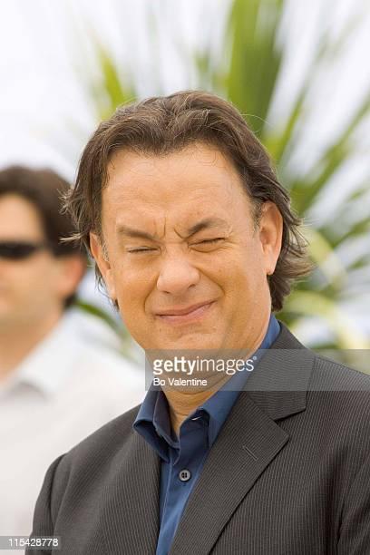 "Tom Hanks during 2006 Cannes Film Festival - ""The Da Vinci Code"" Photo Call at Palais du Festival in Cannes, France."