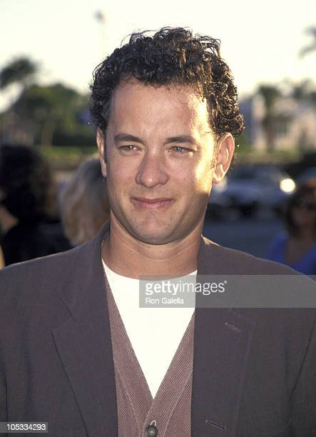 Tom Hanks during Forrest Gump Los Angeles Premiere at Paramount Studios in Hollywood California United States
