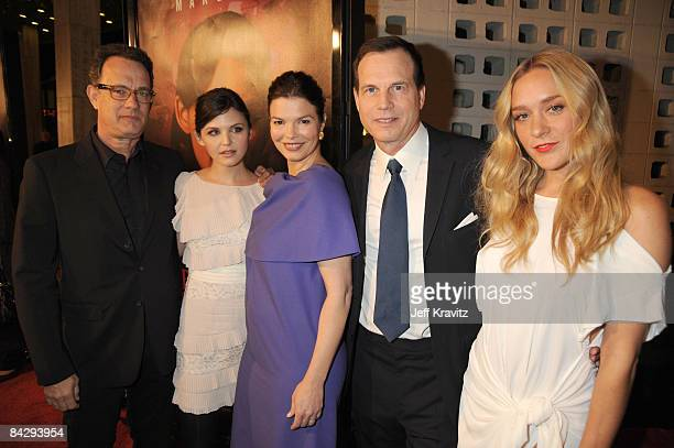 Tom Hanks Ginnifer Goodwin Jeanne Tripplehorn Bill Paxton and Chloe Sevigny attend the Big Love third season premiere held at the Cinerama Dome on...