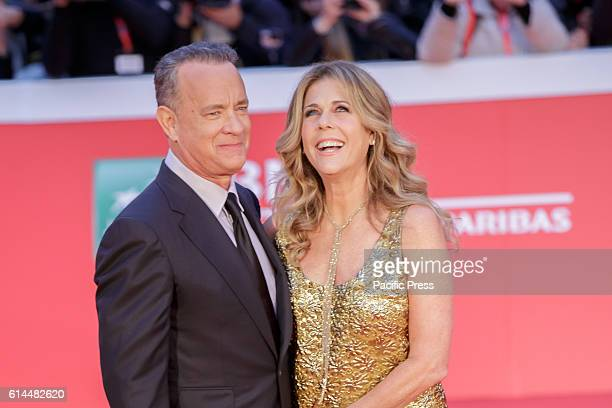 Tom Hanks host of the red carpet to the auditorium music park with his wife Rita Wilson The 11th Rome Film Festival will be held from 13th to 23rd...