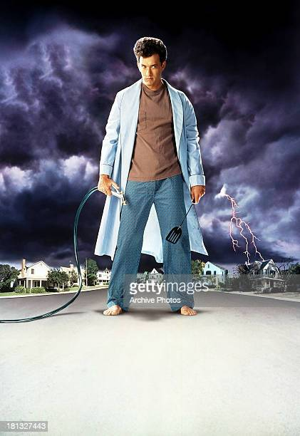 Tom Hanks in movie art for the film 'The 'Burbs' 1989