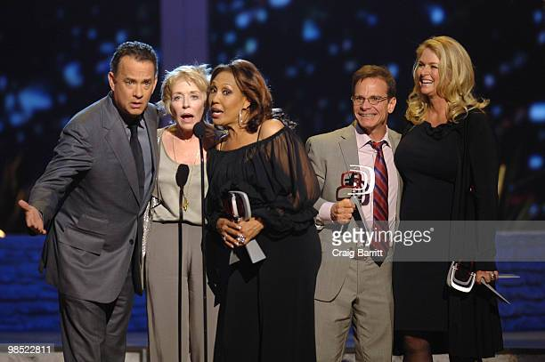 Tom Hanks, Peter Scolari, Donna Dixon, Telma Hopkins, Holland Taylor on stage at the 8th Annual TV Land Awards at Sony Studios on April 17, 2010 in...