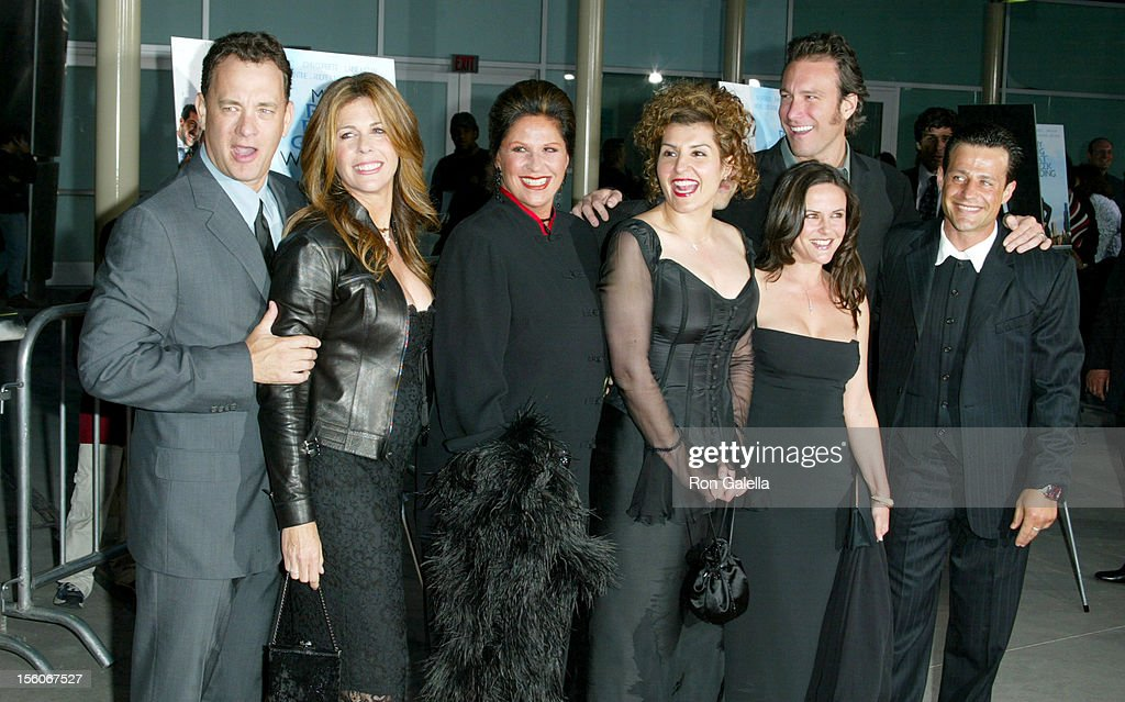 My Big Fat Greek Wedding Cast.Tom Hanks Rita Wilson And Cast Of My Big Fat Greek Wedding