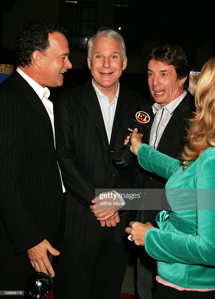 Tom Hanks, Steve Martin and Martin Short during Jerry Lewis Hosts Special Screening of 'The Nutty Professor' at Paramount Theater in Hollywood, California, United States.