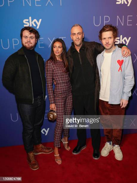 Tom Hanson Michelle Keegan Joe Gilgun and Damien Molony attend the Sky TV Up Next Event at Tate Modern on February 12 2020 in London England Up Next...