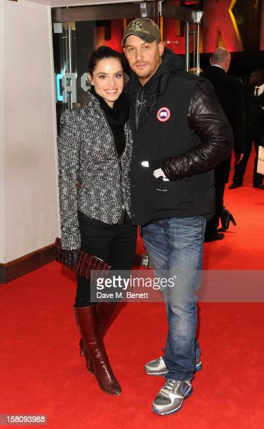 Tom Hardy attend the World Premiere of 'Jack Reacher' at Odeon Leicester Square on December 10 2012 in London England