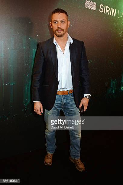 Tom Hardy attends as SIRIN LABS Launches SOLARIN at One Marylebone on May 31 2016 in London England