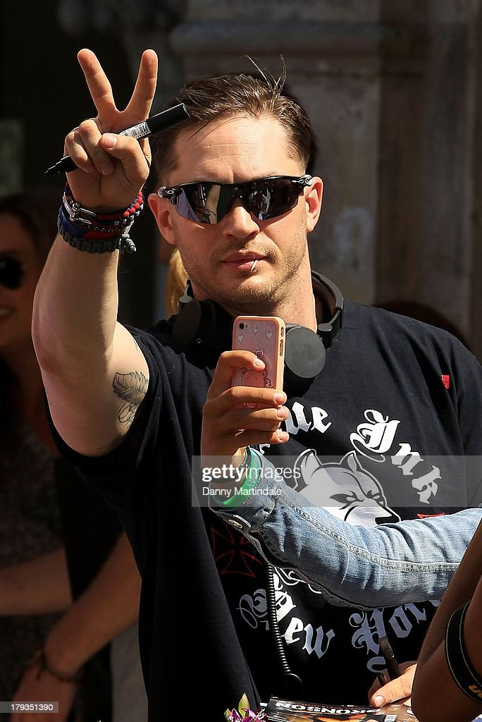 Tom Hardy attends day 6 of the 70th Venice International Film Festival on September 2, 2013 in Venice, Italy.