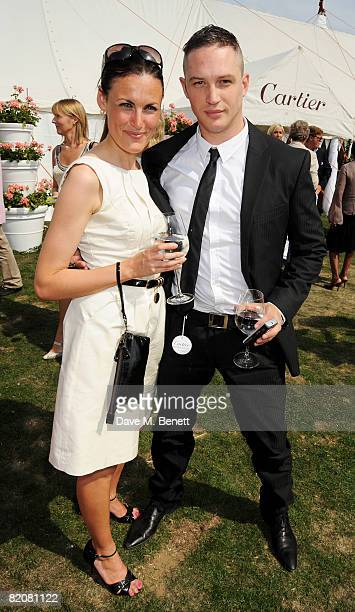 Tom Hardy attends the annual Cartier International Polo Day at the Cartier Marquee in Great Windsor Park on July 27 2008 in Windsor England