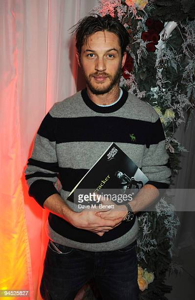 Tom Hardy attends the VIP reception to launch the English National Ballet Christmas season ahead of the performance of 'The Nutcracker', at the St...