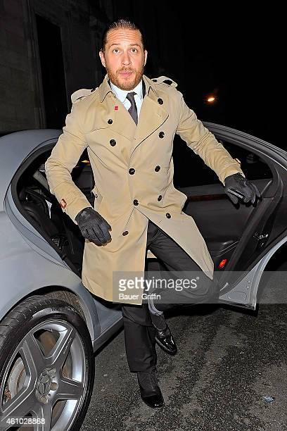 Tom Hardy is seen on July 18 2012 in London United Kingdom