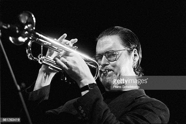 Tom Harrell, trumpet, performs on September 6th 1992 at the BIM huis in Amsterdam, Netherlands.
