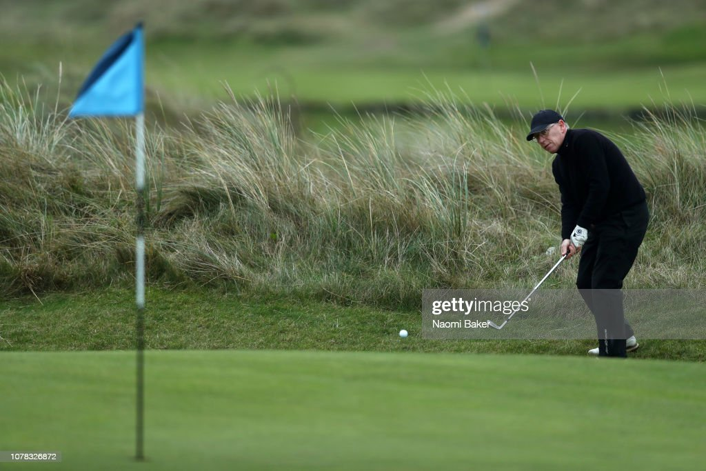 The President's Putter at Rye Golf Club : News Photo