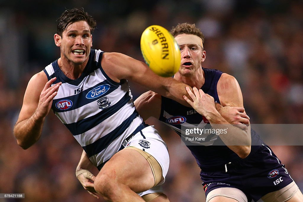 AFL Rd 17 - Fremantle v Geelong
