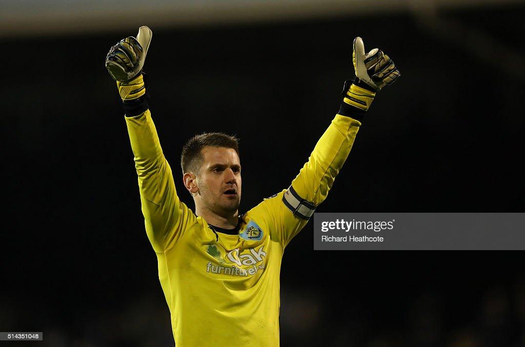 Fulham v Burnley - Sky Bet Championship : News Photo