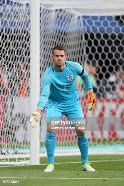 Tom Heaton of England during the International Friendly between France and England on June 13 2017 in Paris France