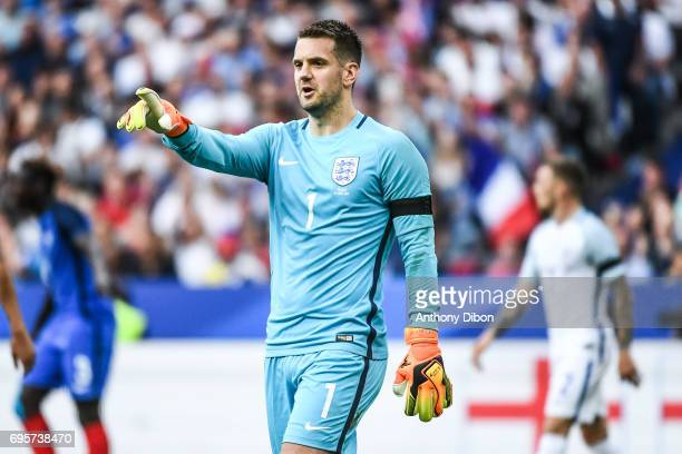 Tom Heaton of England during the International friendly match between France and England at Stade de France on June 13 2017 in Paris France