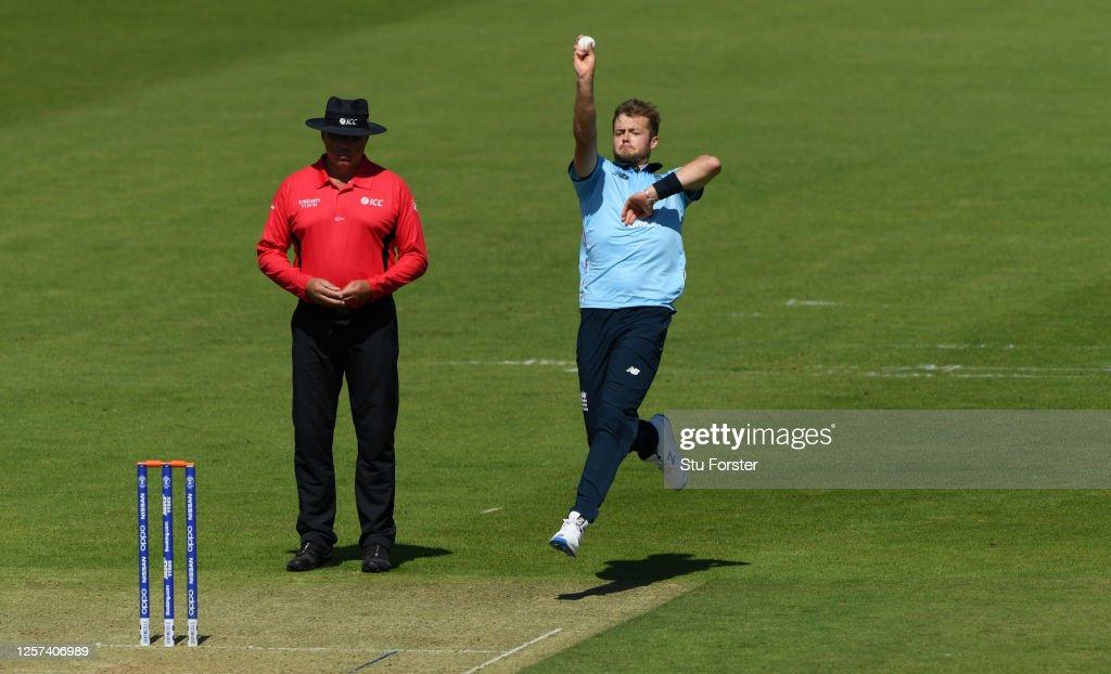 England One Day Squad Warm Up Match : News Photo