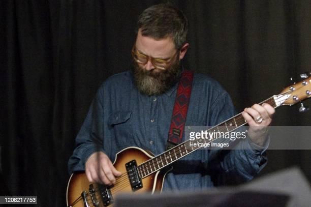Tom Herbert, Zone-B, Verdict Jazz Club, Brighton, East Sussex, 13 Dec 2019. Artist Brian O'Connor.