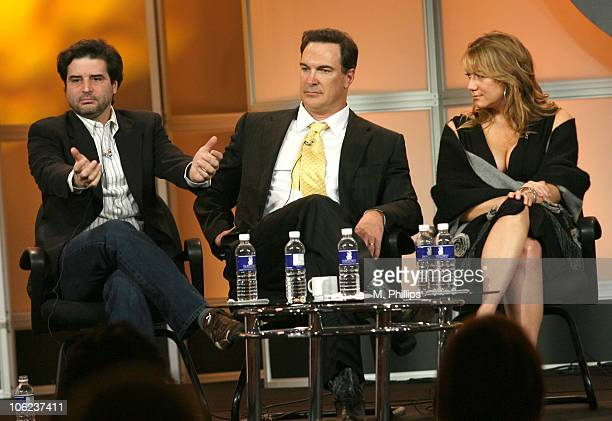 Tom Hertz Creator/Executive Producer Patrick Warburton and Megyn Price of Rules of Engagement