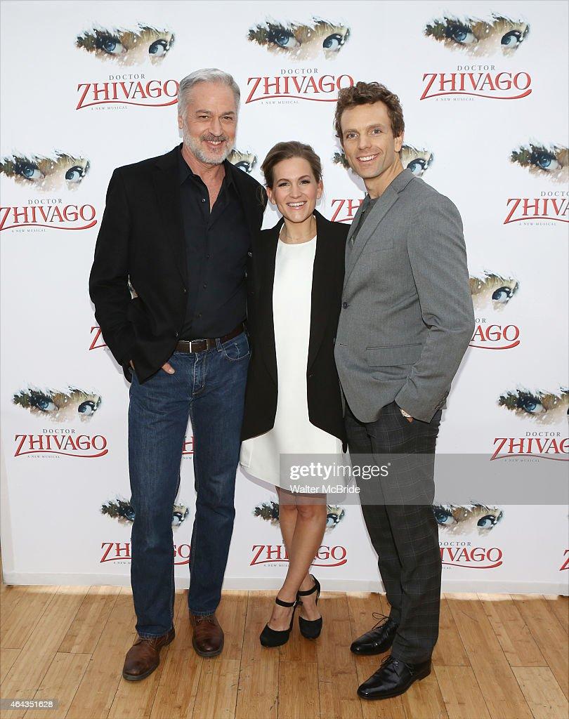 "Broadway's ""Doctor Zhivago"" Photo Call"
