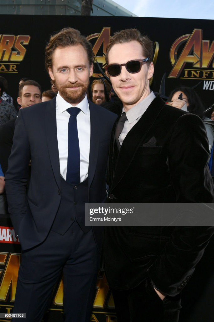 """Premiere Of Disney And Marvel's """"Avengers: Infinity War"""" - Red Carpet : News Photo"""