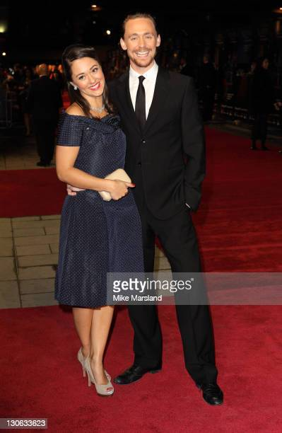 Tom Hiddleston and Susannah Fielding attend the premiere of 'The Deep Blue Sea' at the closing night of The 55th BFI London Film Festival at Odeon...