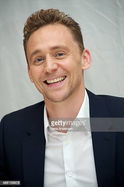 Tom Hiddleston at the 'I Saw The Light' Press Conference at the Fairmont Royal York on September 11 2015 in Toronto Ontario