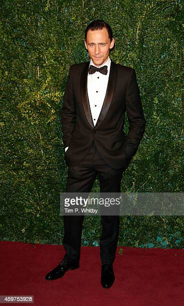 Tom Hiddleston attends the 60th London Evening Standard Theatre Awards at London Palladium on November 30 2014 in London England