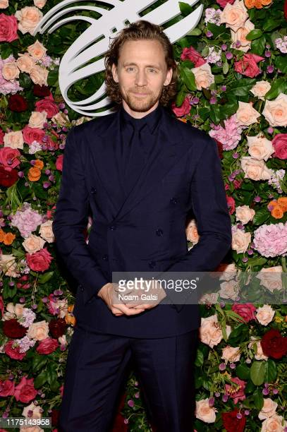Tom Hiddleston attends The American Theatre Wing's 2019 Gala at Cipriani 42nd Street on September 16 2019 in New York City
