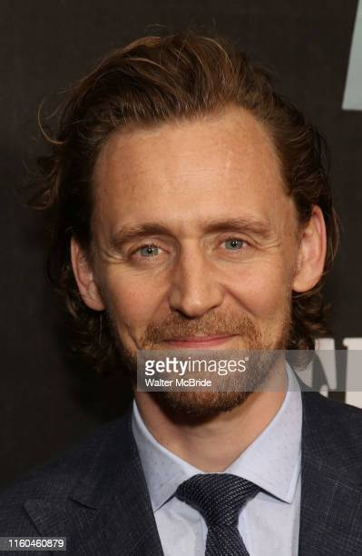 Tom Hiddleston attends the Broadway Opening Night performance of Sea Wall / A Life at the Hudson Theatre on August 08 2019 in New York City