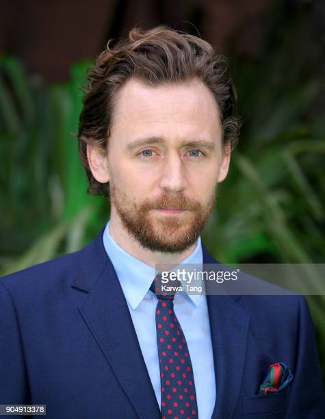 Tom Hiddleston attends the 'Early Man' World Premiere at the BFI IMAX on January 14 2018 in London England