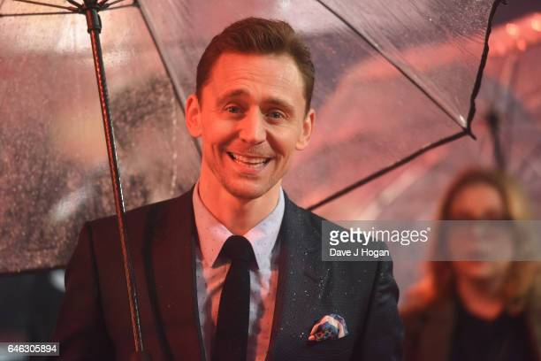 Tom Hiddleston attends the European premiere of 'Kong Skull Island' on February 28 2017 in London England