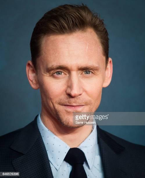 Tom Hiddleston attends the European premiere Of 'Kong Skull Island' on February 28 2017 in London United Kingdom