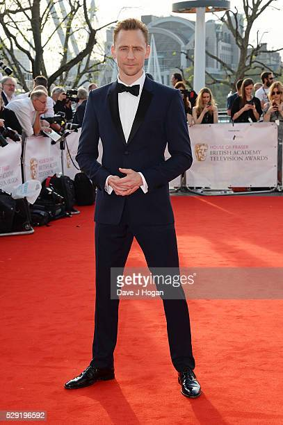 Tom Hiddleston attends the House Of Fraser British Academy Television Awards 2016 at the Royal Festival Hall on May 8 2016 in London England