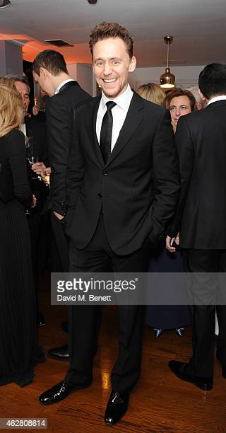 Tom Hiddleston attends the inaugural BAFTA Film Gala Dinner raising funds for the 'Give Something Back' campaign at BAFTA on February 5 2015 in...