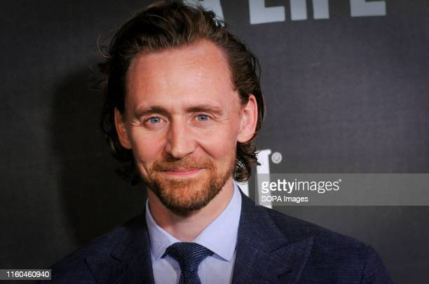 Tom Hiddleston attends the Sea Wall / A Life Broadway Opening Night at the Hudson Theater in New York