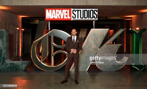 Tom Hiddleston attends the Special Screening of Marvel Studios' series LOKI on June 08, 2021 in London, England. LOKI will stream exclusively on...