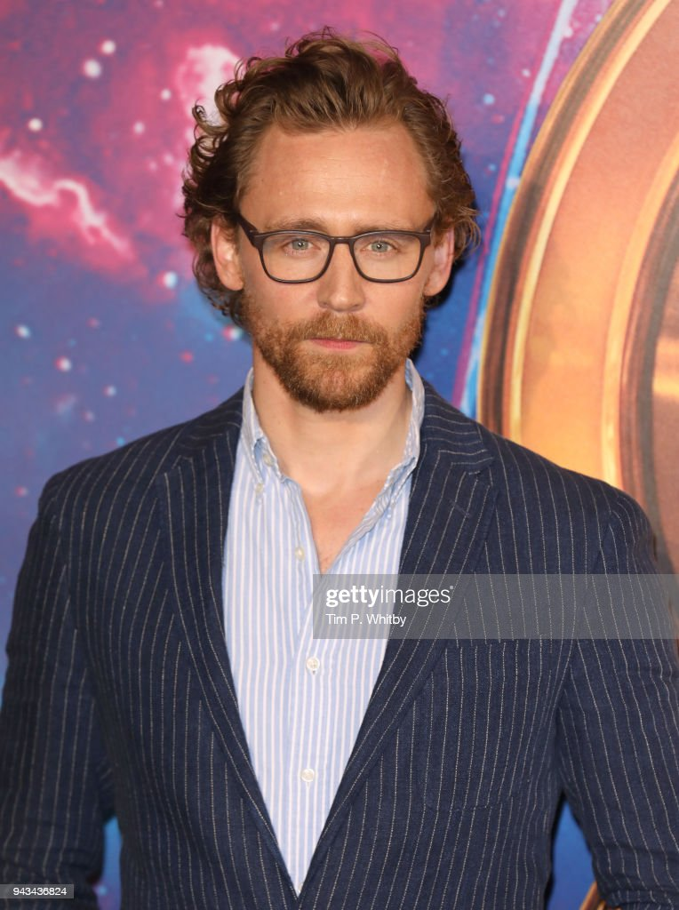 Tom Hiddleston attends the UK Fan Event for 'Avengers Infinity War' at Television Studios White City on April 8, 2018 in London, England.