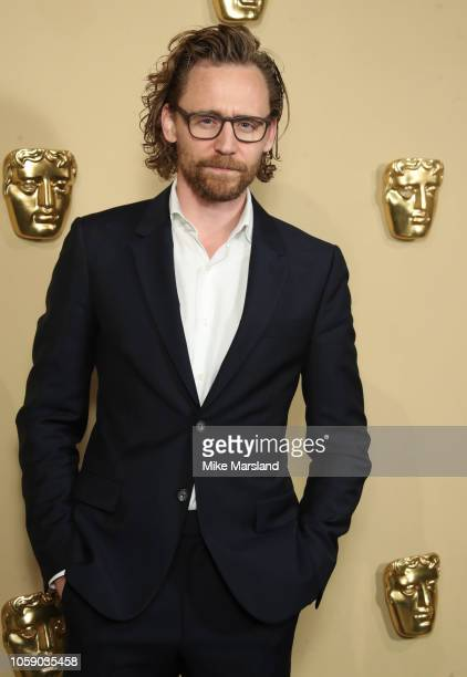 Tom Hiddleston during the BAFTA Breakthrough Brits reception at BAFTA on November 7 2018 in London England