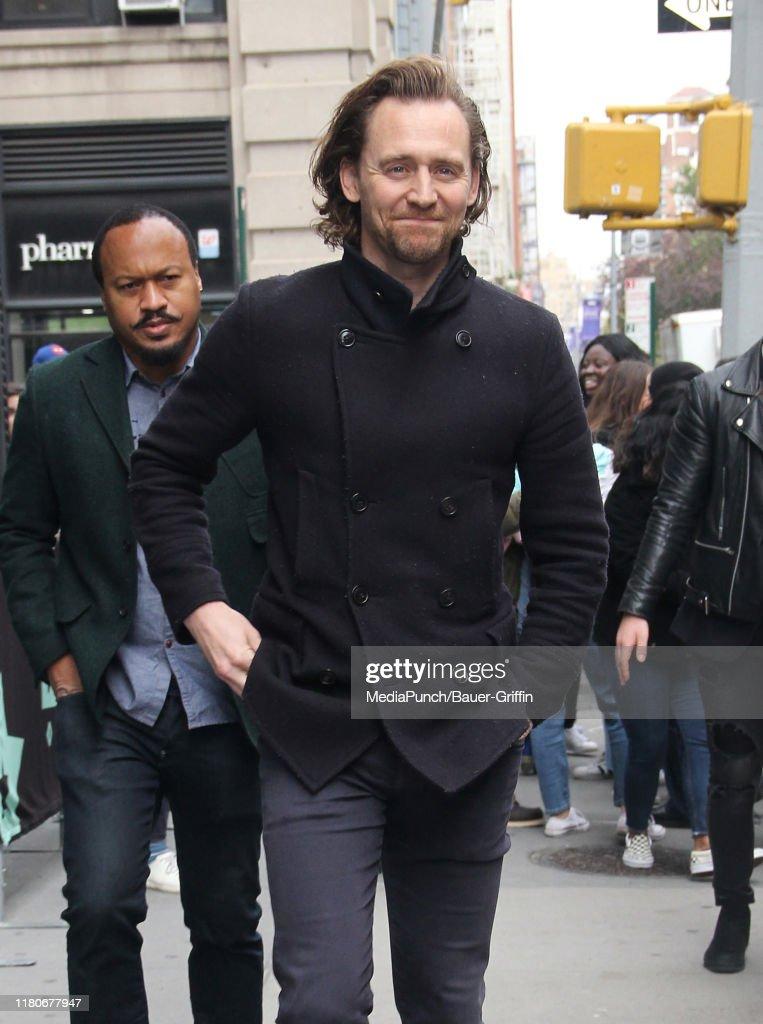 Celebrity Sightings In New York - November 07, 2019 : ニュース写真