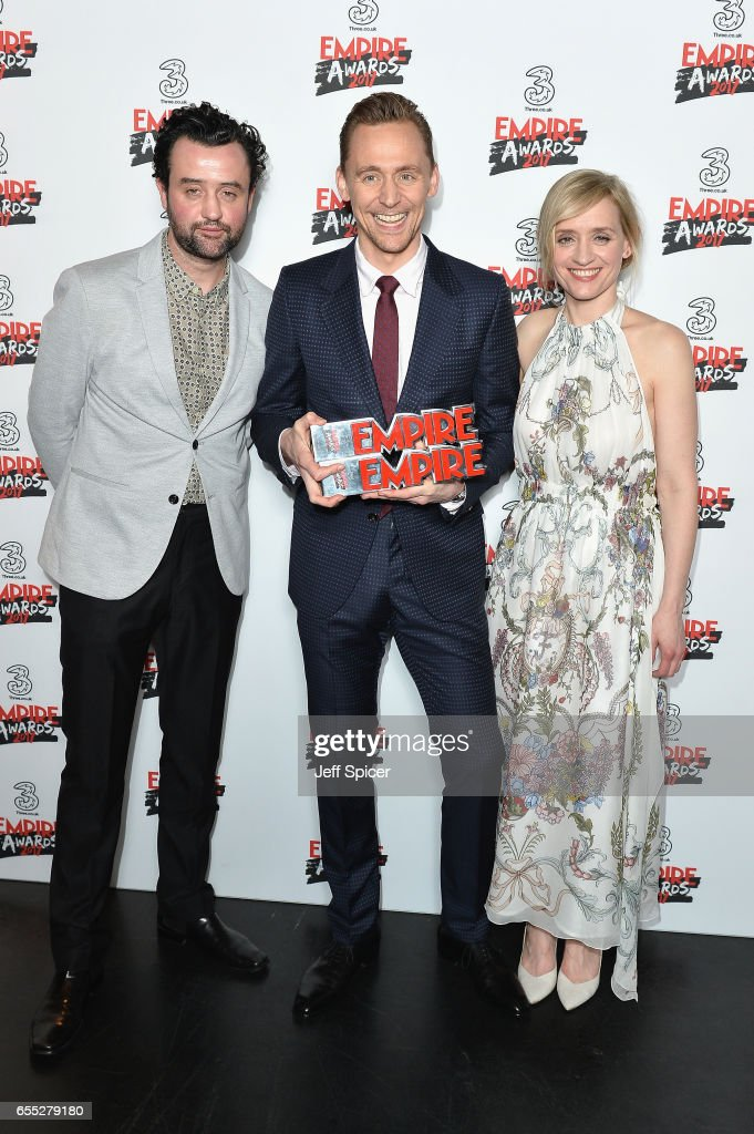 Three Empire Awards - Winners Room : News Photo