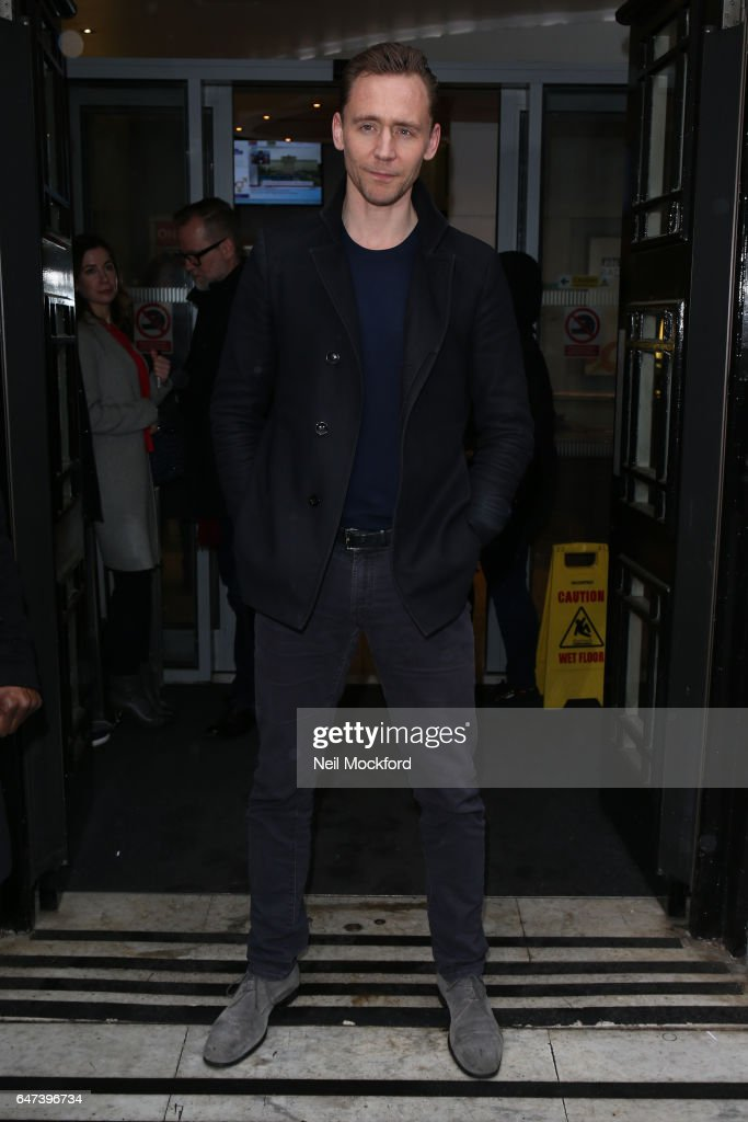 Tom Hiddleston seen at BBC Radio 2 on March 3, 2017 in