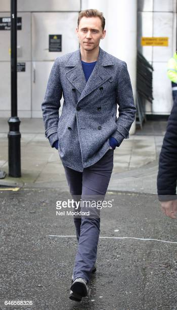 Tom Hiddleston seen at BBC Radio One on March 1 2017 in London England